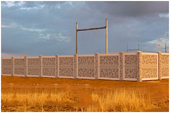 Substation Fence